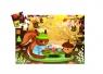 Puzzle tekturowe Wiewiórka (DJ07218)