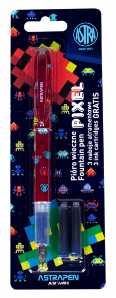 Pióro młodzieżowe Pixel - 1 szt. + 3 naboje (203120008)