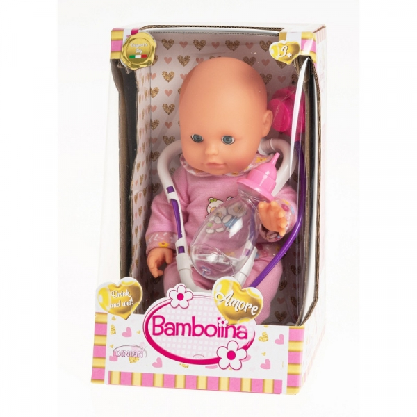 Lalka Bambolina Sikająca Nena (BD118)