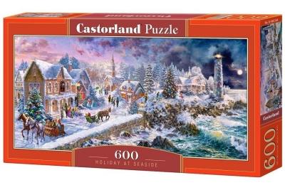 Puzzle Holiday at Seaside 600 (B-060184)