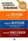Pakiet Największe autorytety w biznesie Kotler Philip, Peters Tom, Drucker Peter