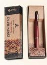 Długopis Zenith 7 retro  w etui bordo