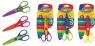 Nożyczki dekoracyjne 15,5 cm 6 rodzajów ostrzy mix kolorów