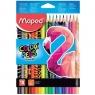 Kredki Maped Colorpeps Animals, 18 kolorów (832218)