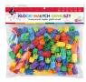 Klocki małych geniuszy - Śrubki, 175 elementów (102184)