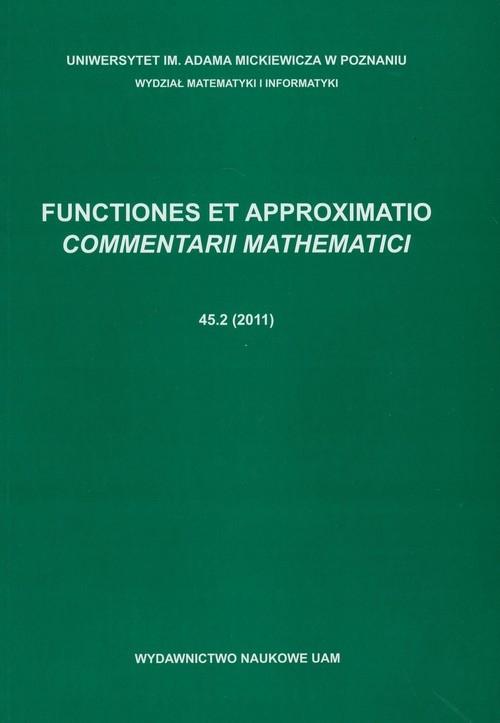 Functiones et approximatio Commentarii mathematici 45.2 (2011)
