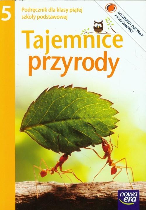 Tajemnice przyrody 5 Podręcznik z płytą CD Ślósarczyk Janina, Kozik Ryszard, Szlajfer Feliks