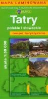 Tatry polskie i słowackie mapa turystyczna