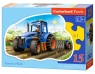 Puzzle 15 Konturowe Tractor at Work
