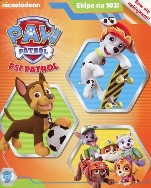 Psi patrol Ekipa na 102 nr 9 + naklejki