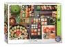Puzzle 1000 Potrawy stołu japońskiego - Sushi