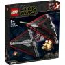Lego Star Wars: Myśliwiec TIE Sithów (75272)Wiek: 9+