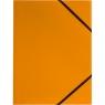 Teczka kartonowa na gumkę Tetis A4 - pomarańczowa (BT600-P)