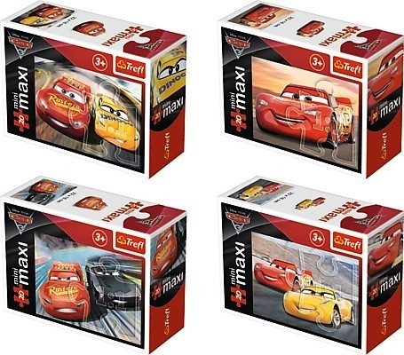 20 elementów Maxi Mini/ 24 sztuki Cars 3 (56003)
