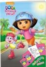 Dora poznaje świat. Kolorowanka i naklejki
