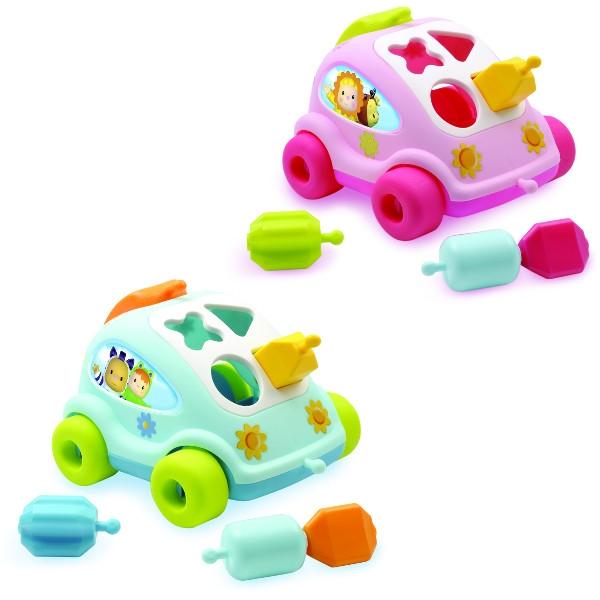 SMOBY Cotoons Samochód sorter (7600211118)