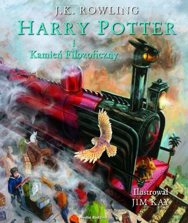 Harry Potter i Kamień Filozoficzny. Tom 1 (wydanie ilustrowane) Rowling Joanne K.