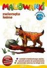 Malowanki 12 Zwierzęta leśne + pisak z naklejkami