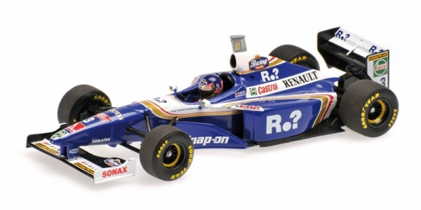 Williams Renault FW19 #3 Jacques Villeneuve World Champion 1997 High Cover (436970003)