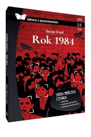 Rok 1984. Lektura z opracowaniem (oprawa twarda) Orwell George