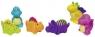 Gumowe zwierzątka: Dinozaury (GOKI-13118) mix wzorów; do kąpieli