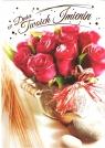 Karnet B6 Kwiaty imieniny  FF1285