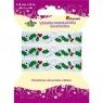 Wstążka dekoracyjna świąteczna, ostrokrzew (363086)