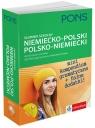 Słownik szkolny niemiecko-polski polsko-niemiecki 45 000 haseł i zwrotów.