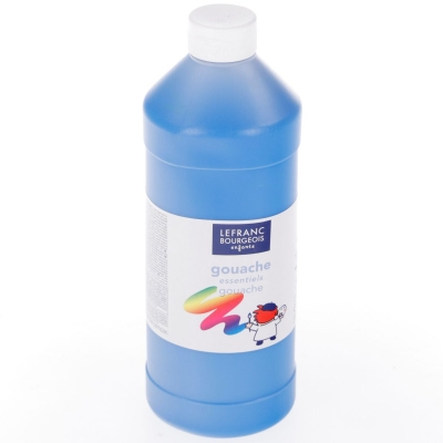Farby plakatowe Lefranc&Bourgeois kolor: niebieska 1000 ml 1 kol. (188518)