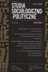 Studia Socjologiczno-Polityczne 1/08/2018