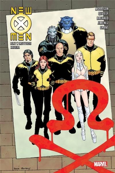 New X-Men. Tom 3. Bunt w Instytucie Xaviera Grant Morrison