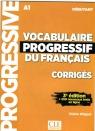 Vocabulaire progressif du Francais niveau debutant A1 klucz 3ed