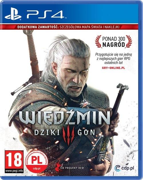 Wiedźmin 3 Dziki Gon reedycja PS4