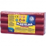 Plastelina Astra, 1 kg - różowa (303111008)
