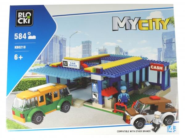 Klocki Blocki: MyCity - Myjnia 584 el. (KB0218)