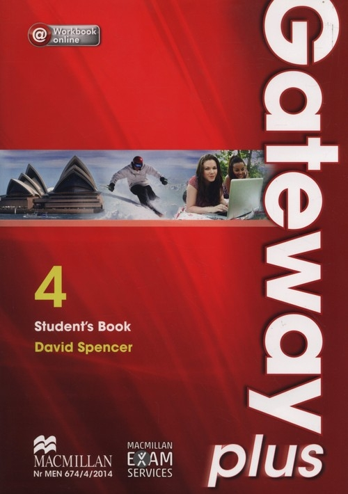 Gateway Plus 4 B2 Student's Book + Workbook online Spencer David