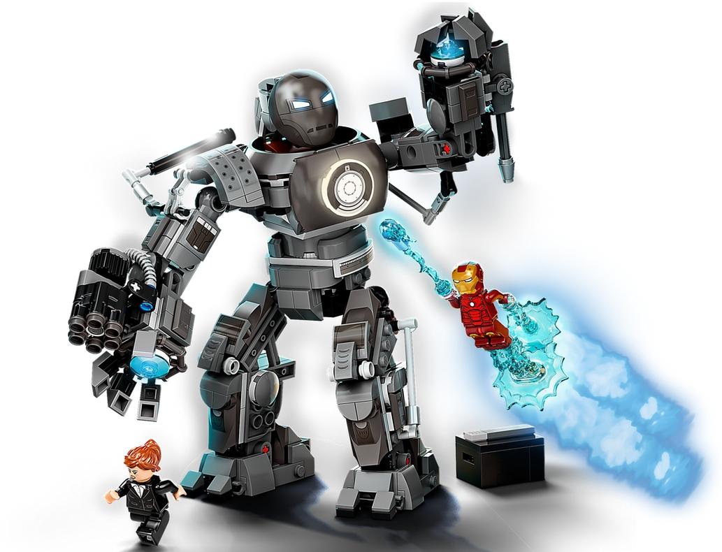 Lego Marvel Super Heroes: Iron Man - zadyma z Iron Mongerem (76190)