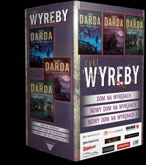 Cykl Wyręby: Dom na Wyrębach / Nowy Dom na Wyrębach I / Nowy Dom na Wyrębach II miękka Darda Stefan