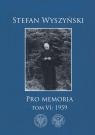 Stefan Wyszyński, Pro memoria, Tom 6: 1959