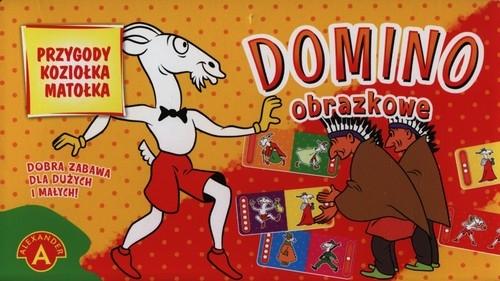 Domino obrazkowe Przygody Koziołka Matołka (0918)