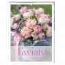 Kalendarz 2022 ścienny 31x23cm - Kwiaty