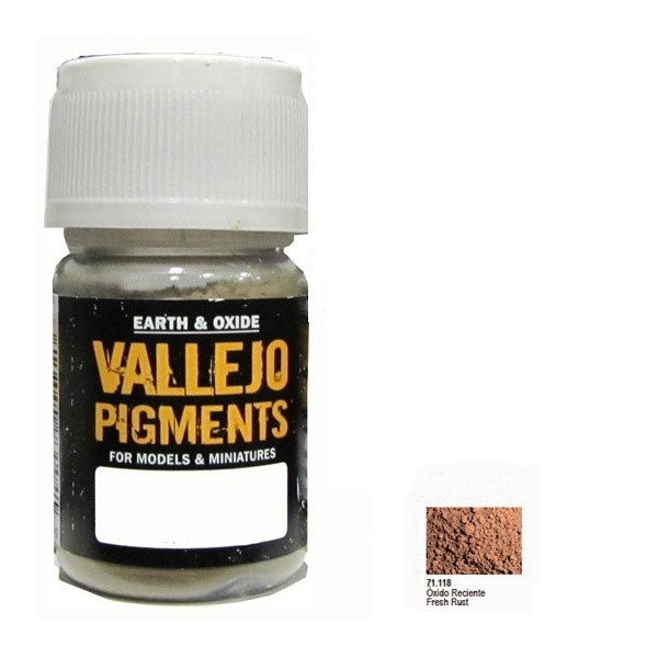 VALLEJO Pigment Fresh Rust (73118)