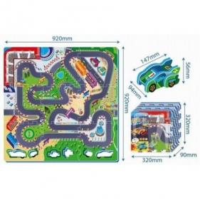 Puzzle piankowe - tor wyścigowy, 9 elementów