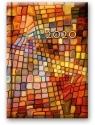 Kalendarz 2020 Dzienny B6 Soft Mozaika 41DS-06