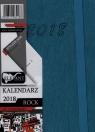 Kalendarz Rock turkusowy A7 tyg. 2018