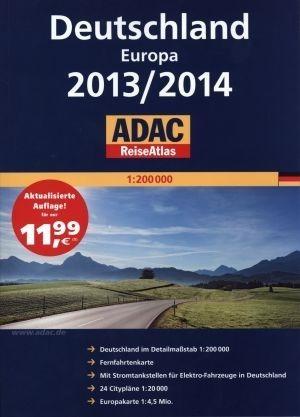 ADAC ReiseAtlas. Deutschland. Europa 2013/2014 praca zbiorowa