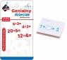 Genialny dzieciak - fiszki matematyczne dodawanie (110189)