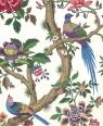 Karnet 17x14cm z kopertą Chinese Magpie wallpaper