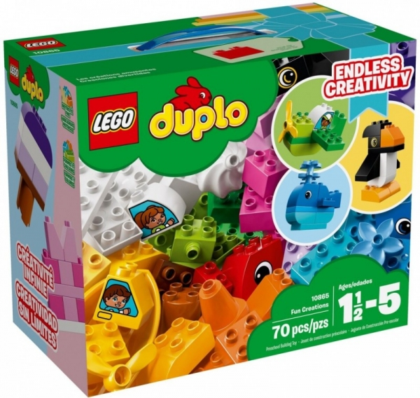 Lego Duplo: Wyjątkowe budowle (10865)