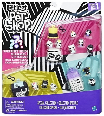 Littlest Pet Shop Black&White zestaw 5